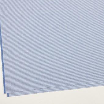 コットン&ポリエステル×ストライプ(ブルー)×コードレーン サムネイル2