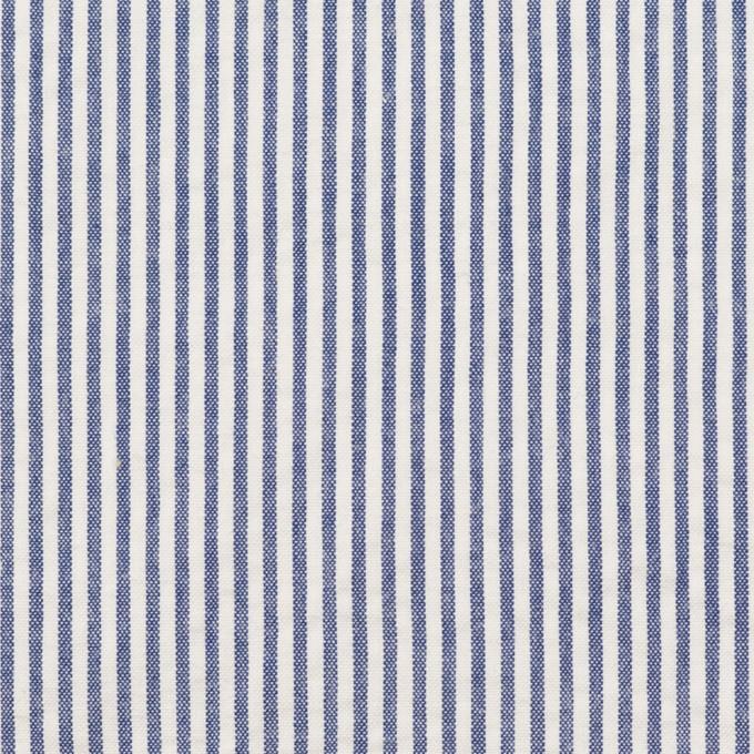 コットン×ストライプ(ブルー)×サッカー イメージ1