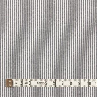コットン&ポリウレタン×ストライプ(ネイビー)×コードレーン・ストレッチ サムネイル4