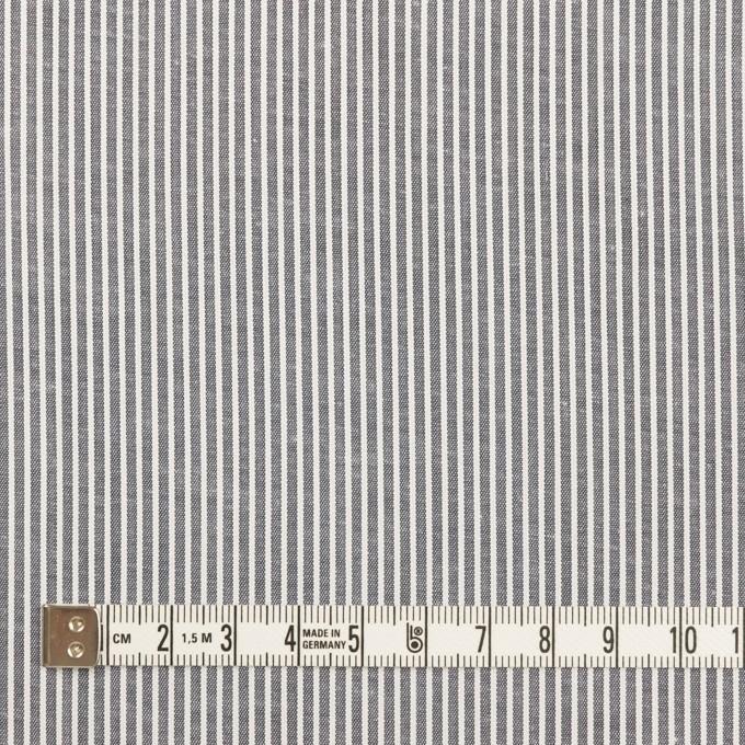コットン&ポリウレタン×ストライプ(ネイビー)×コードレーン・ストレッチ イメージ4