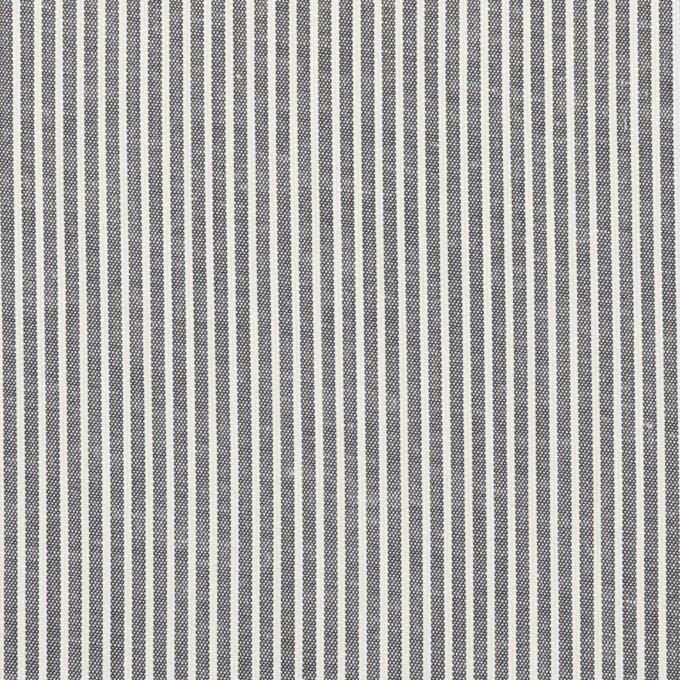 コットン&ポリウレタン×ストライプ(ネイビー)×コードレーン・ストレッチ イメージ1