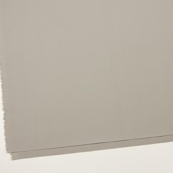 コットン×無地(ストーングレー)×サージ_イタリア製 イメージ2