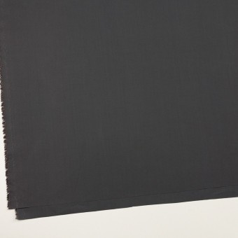 コットン×無地(チャコールグレー)×ローン_全2色_イタリア製 サムネイル2
