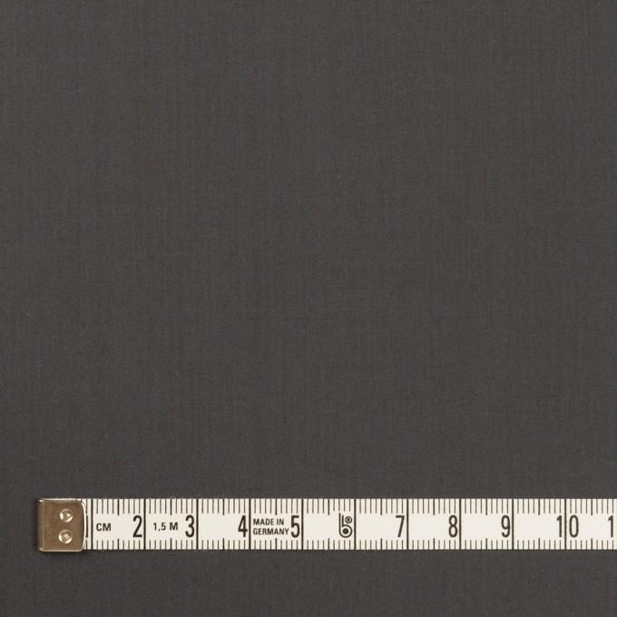 コットン×無地(チャコールグレー)×ローン_全2色_イタリア製 イメージ4