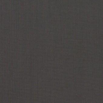 コットン×無地(チャコールグレー)×ローン_全2色_イタリア製
