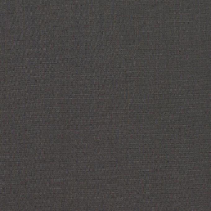 コットン×無地(チャコールグレー)×ローン_全2色_イタリア製 イメージ1