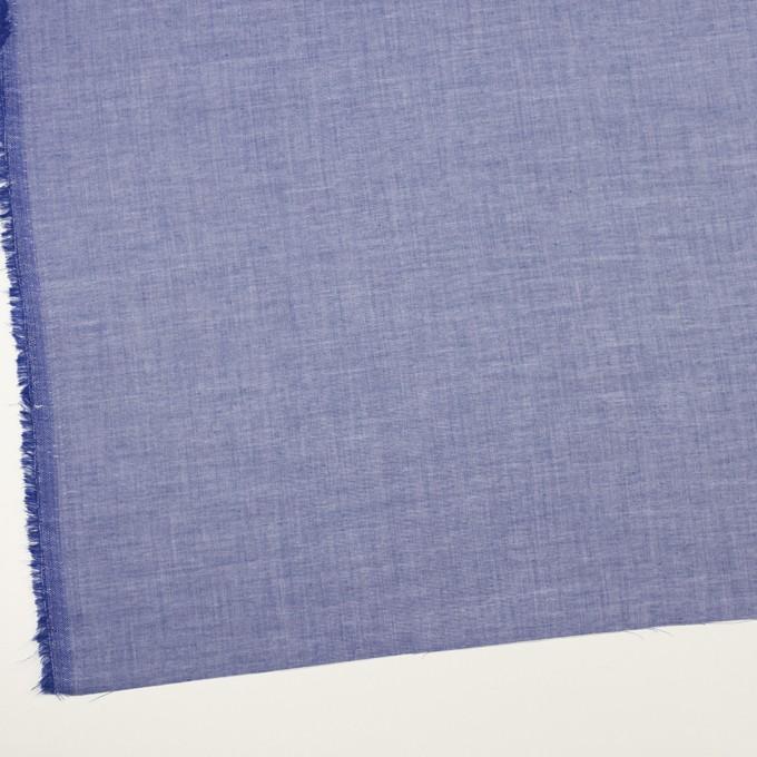 コットン&テンセル×無地(ブルー)×サージ イメージ2