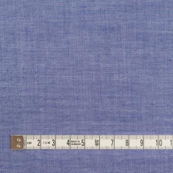コットン&テンセル×無地(ブルー)×サージ サムネイル4