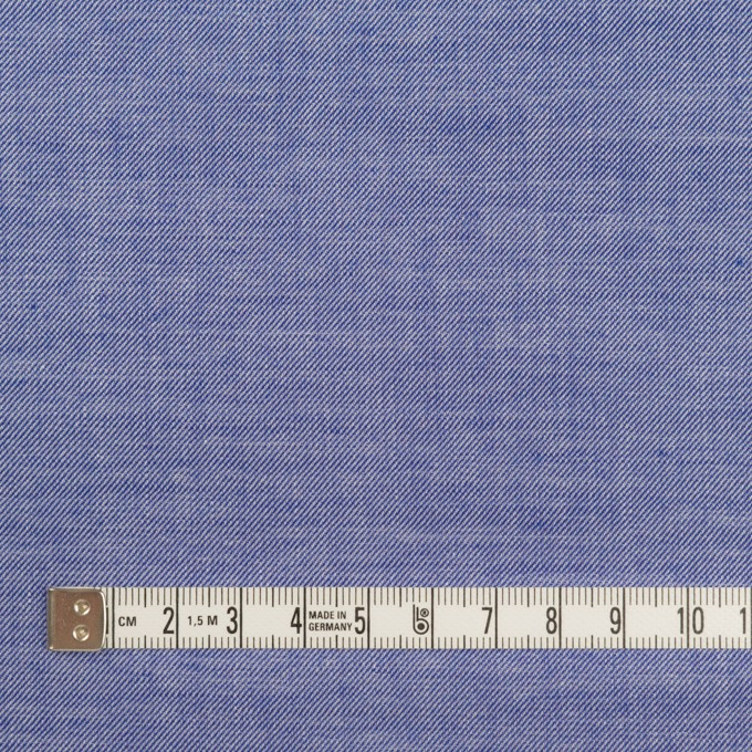 コットン&テンセル×無地(ブルー)×サージ イメージ4