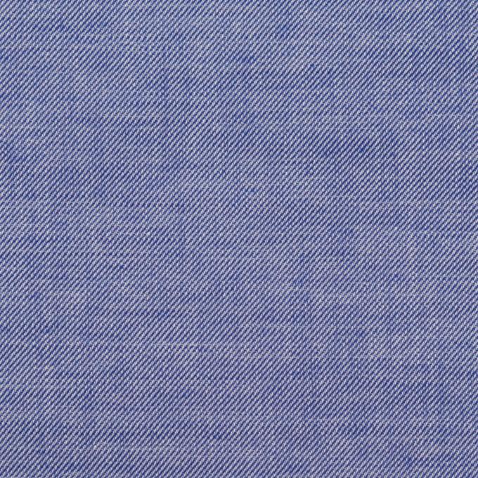 コットン&テンセル×無地(ブルー)×サージ イメージ1
