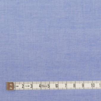 コットン×無地(ヒヤシンスブルー)×シャンブレー・ローン_全2色 サムネイル4
