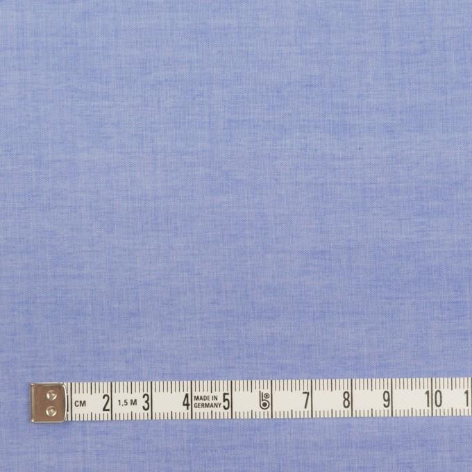 コットン×無地(ヒヤシンスブルー)×シャンブレー・ローン_全2色 イメージ4