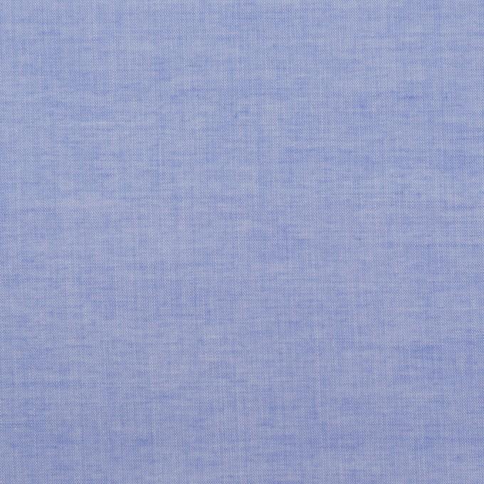 コットン×無地(ヒヤシンスブルー)×シャンブレー・ローン_全2色 イメージ1