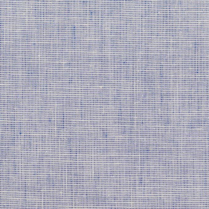 コットン×無地(ブルー)×かわり織 イメージ1