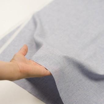 コットン×無地(ブルー)×かわり織 サムネイル5