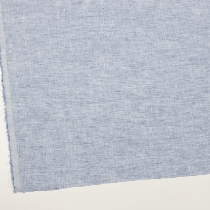 リネン×無地(ペールブルー)×薄キャンバス イメージ2