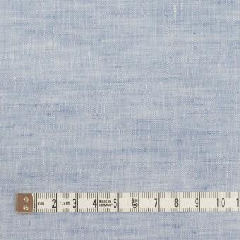リネン×無地(ペールブルー)×薄キャンバス サムネイル4