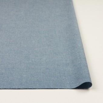 コットン×無地(ブルー)×かわり織 サムネイル3