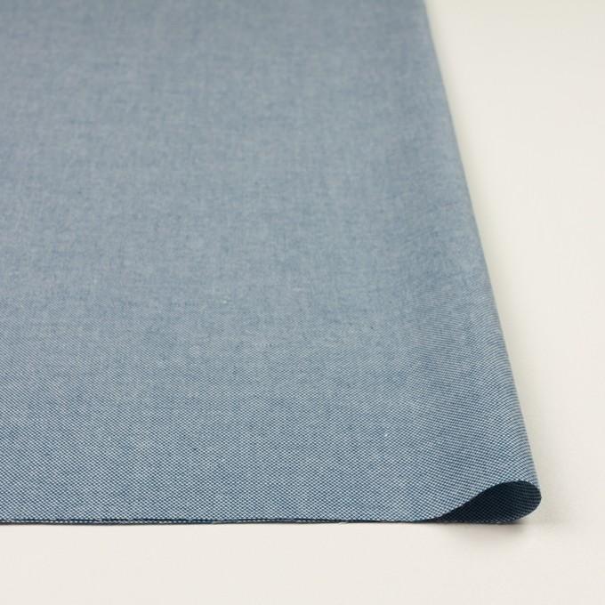 コットン×無地(ブルー)×かわり織 イメージ3