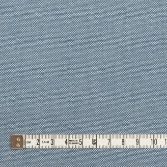 コットン×無地(ブルー)×かわり織 サムネイル4