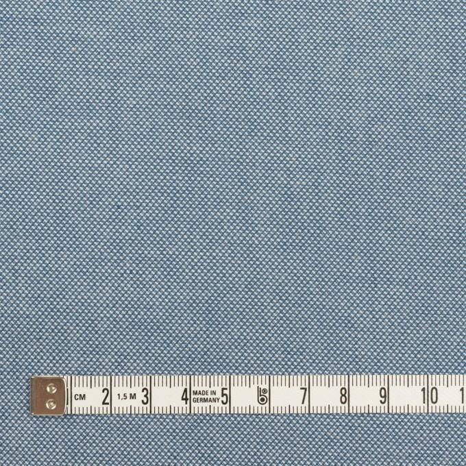 コットン×無地(ブルー)×かわり織 イメージ4