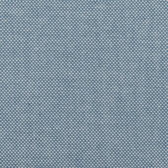 コットン×無地(ブルー)×かわり織
