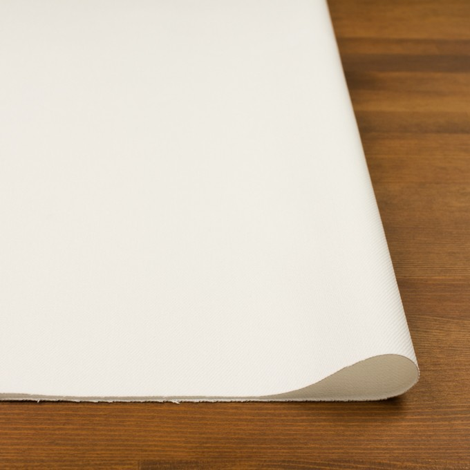 コットン×無地(オフホワイト)×カツラギ イメージ3