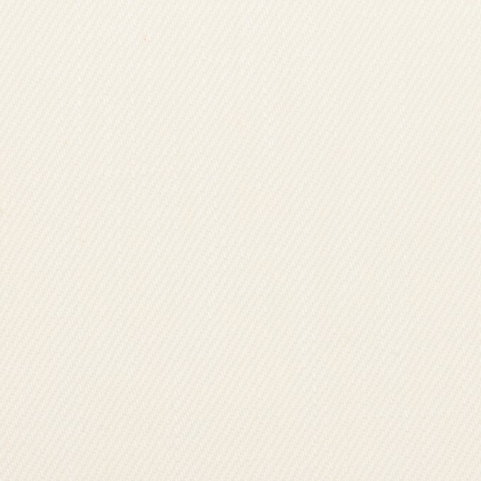 コットン×無地(ミルク)×カツラギ イメージ1