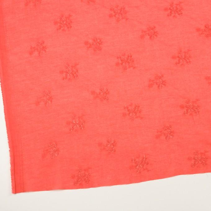 コットン×フラワー(ルビーグレープフルーツ)×ローン刺繍_全3色 イメージ2