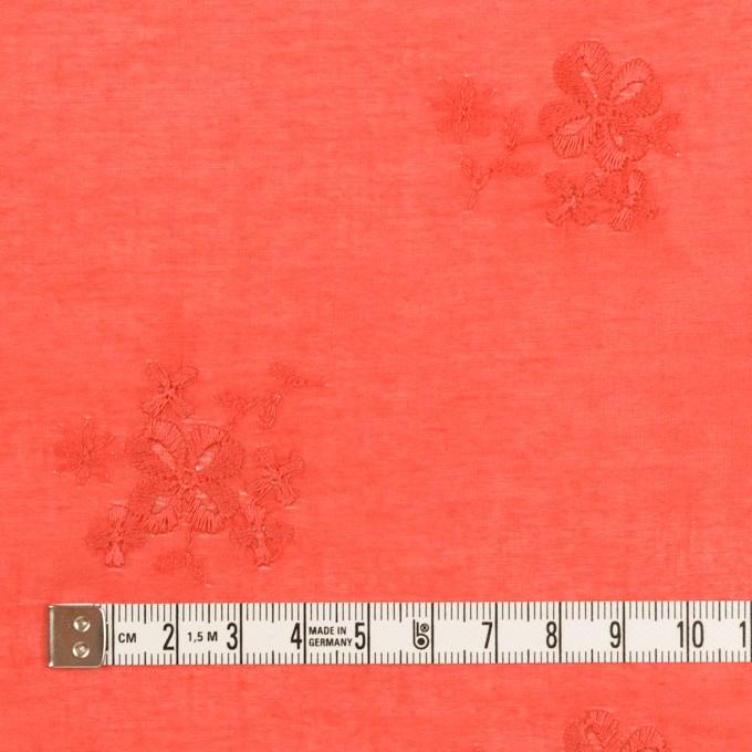 コットン×フラワー(ルビーグレープフルーツ)×ローン刺繍_全3色 イメージ4