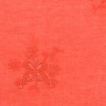 コットン×フラワー(ルビーグレープフルーツ)×ローン刺繍_全3色