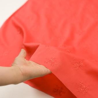コットン×フラワー(ルビーグレープフルーツ)×ローン刺繍_全3色 サムネイル5