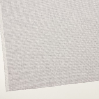 リネン×千鳥格子(ラベンダーグレー)×薄キャンバス_全2色 サムネイル2