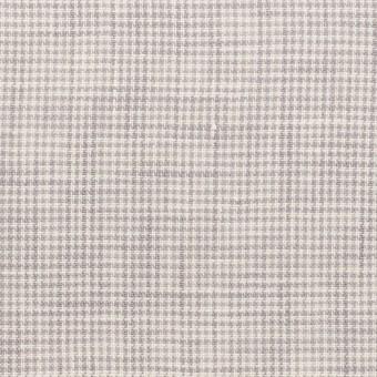 リネン×千鳥格子(ラベンダーグレー)×薄キャンバス_全2色 サムネイル1