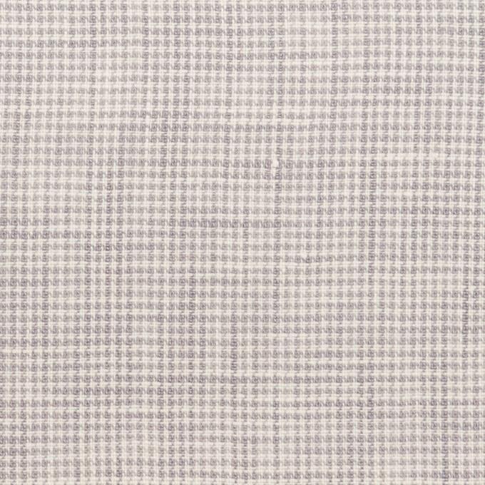リネン×千鳥格子(ラベンダーグレー)×薄キャンバス_全2色 イメージ1