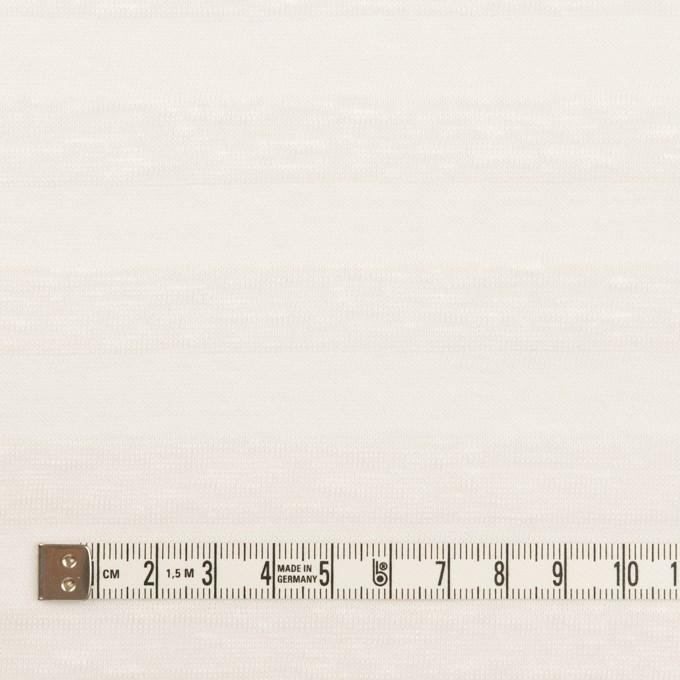コットン&リネン×ボーダー(ホワイト)×天竺ニット イメージ4