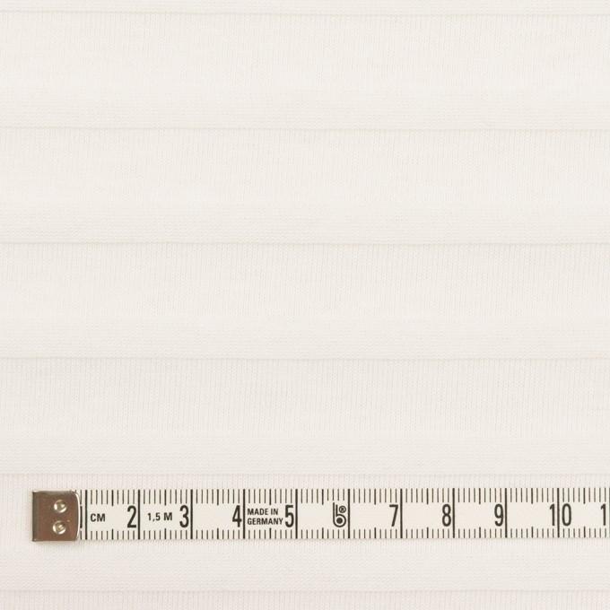 コットン×ボーダー(オフホワイト)×天竺ニット_全2色 イメージ4