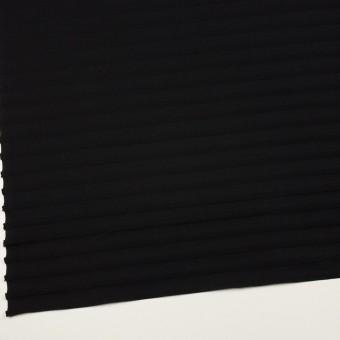 コットン×ボーダー(ブラック)×天竺ニット_全2色 サムネイル2