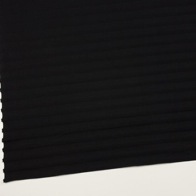 コットン×ボーダー(ブラック)×天竺ニット_全2色 イメージ2