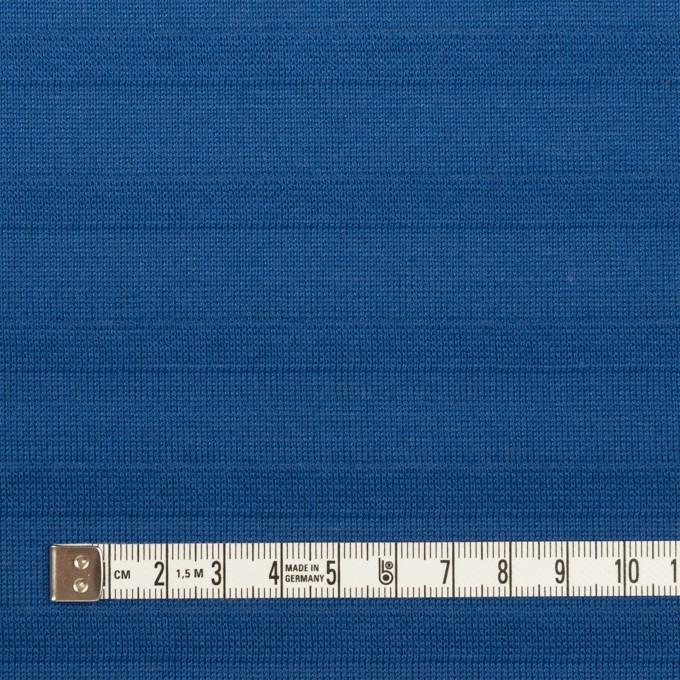 コットン×ボーダー(マリンブルー)×天竺ニット イメージ4