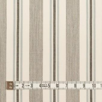 コットン&レーヨン×ストライプ(チャコール&スレートグレー)×ジャガード サムネイル4