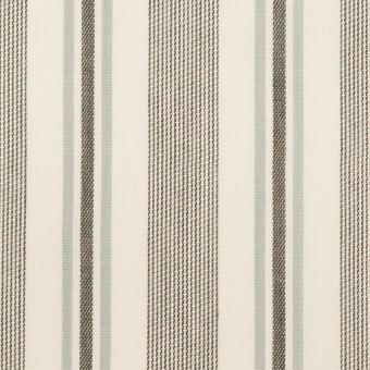 コットン&レーヨン×ストライプ(チャコール&スレートグレー)×ジャガード サムネイル1