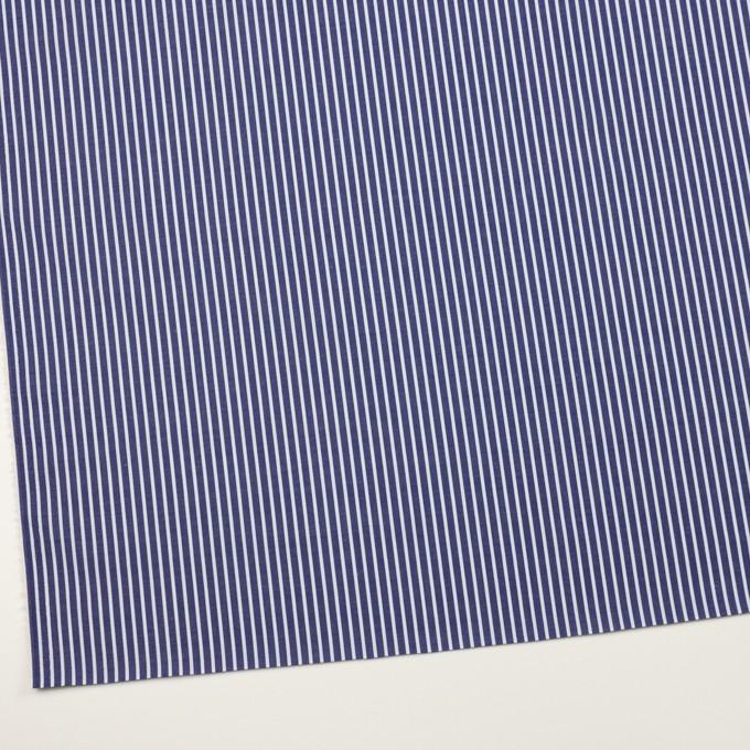 コットン×ストライプ(プルシアンブルー&サックス)×ブロード イメージ2