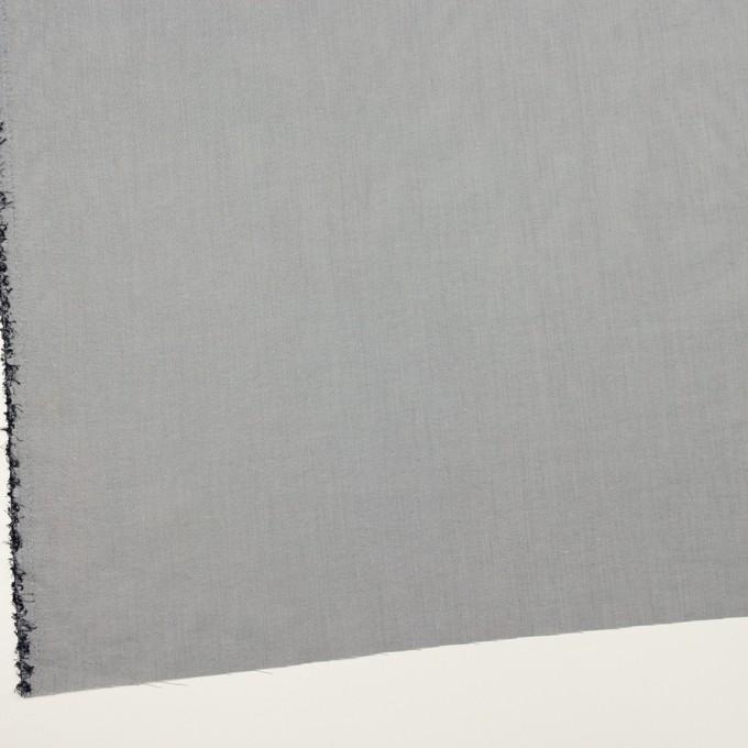 コットン&ナイロン×無地(スチールグレー)×シャンブレーボイル イメージ2