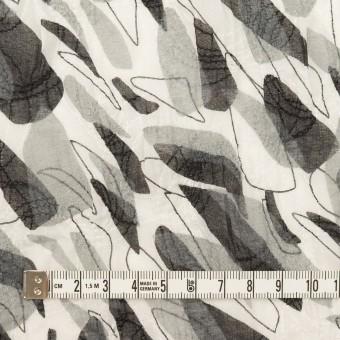 コットン×ペイント(グレー)×ボイル刺繍 サムネイル4