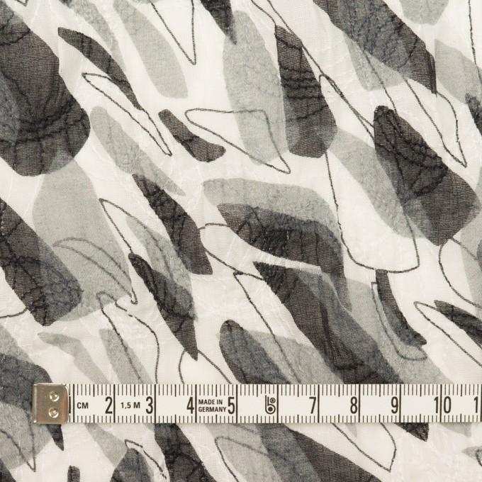 コットン×ペイント(グレー)×ボイル刺繍 イメージ4