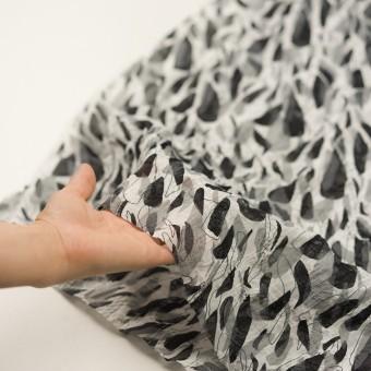 コットン×ペイント(グレー)×ボイル刺繍 サムネイル5