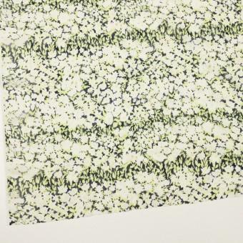 ポリエステル×フラワー(ライムグリーン)×ジョーゼット刺繍_全3色 サムネイル2
