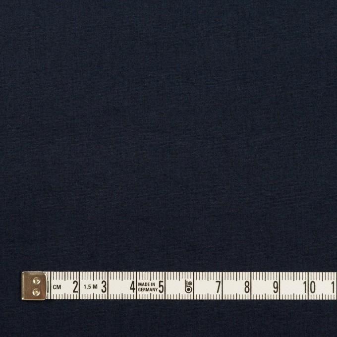 コットン×無地(アッシュダークネイビー)×高密ブロード_全4色 イメージ4