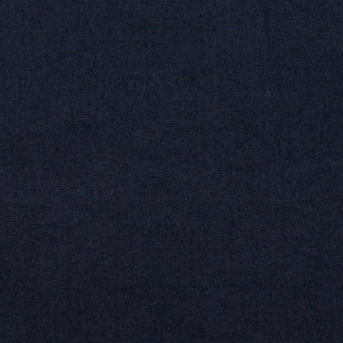 コットン×無地(アッシュダークネイビー)×高密ブロード_全4色 イメージ1